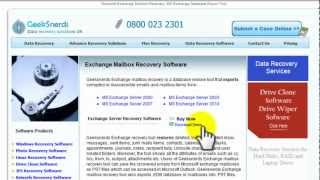 Exchange Mailbox Recovery Software: How to Install