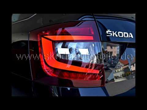 Skoda Octavia 3 5e Led Fl R 252 Ckleuchten Tail Light Youtube