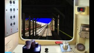 OpenBVE HD: NYC Subway R68 Howling Motor Q Train Cab Ride (Astoria - Brighton Beach)