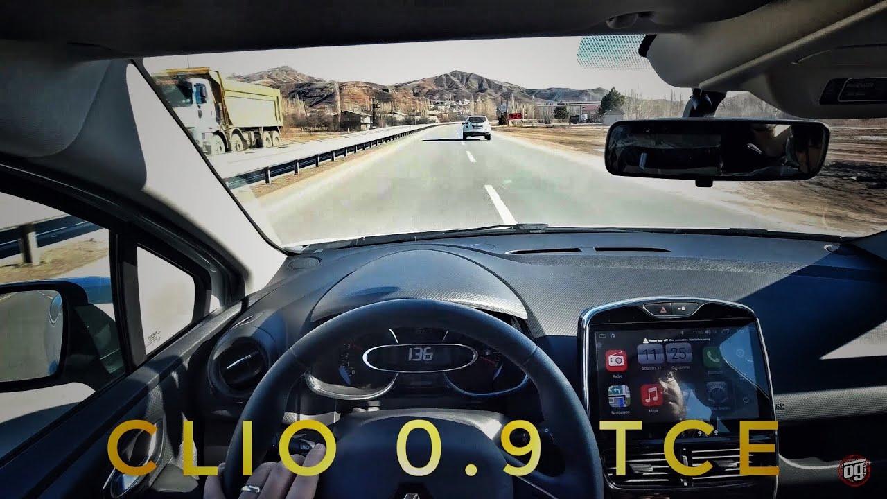 En Uygun Turbolu Sıfır | Gazladık | Yokuş Testi | Renault CLIO 4 | 0.9 TCe | Otomobil Günlüklerim