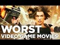10 of the Worst Video Game Movies of All Time