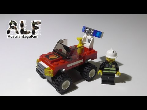 Lego City 7241 Fire Car / Feuerwehrauto - Lego Speed Build Review