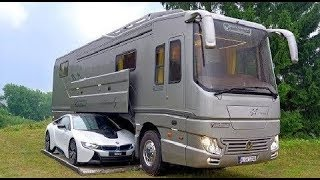 ये Bus है या महल | 5 Luxurious Motor Homes That Will Blow Your Mind | Amazing motor homes