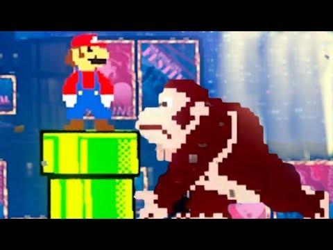 Mario Vs. Donkey Kong in Super Mario Odyssey | DK + Pauline Singing Full Level