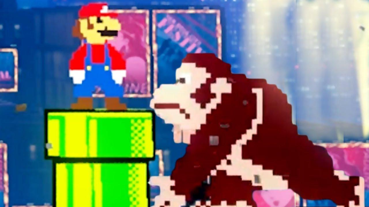 Mario Vs Donkey Kong In Super Mario Odyssey Dk Pauline