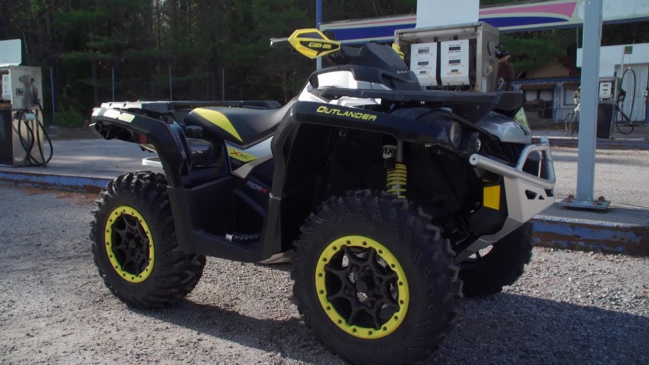 Can Am Outlander Max 2018 >> Full REVIEW: 2018 Can-Am Outlander X xc - YouTube