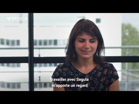 Noémie, doctorante sur la fabrication additive - SEGULA Technologies