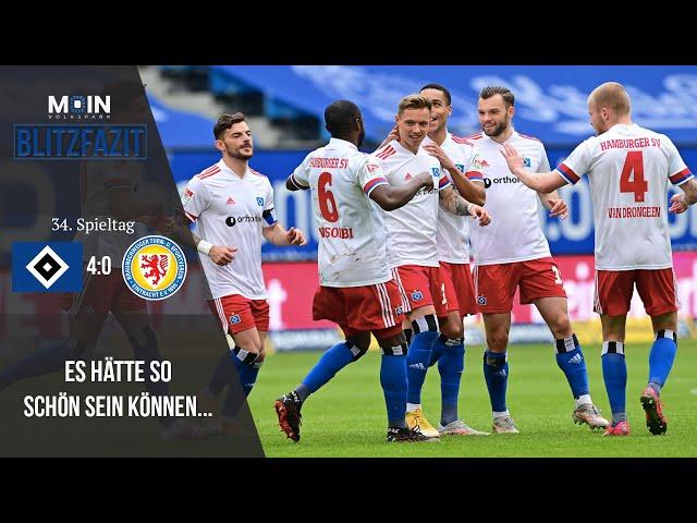 Scholles Blitzfazit zum Spiel | HSV 4:0 Braunschweig / Saison 20/21 | #021