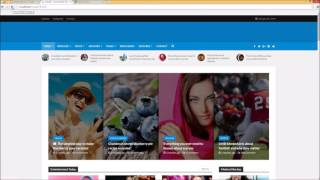 Header Customization - Herald WordPress Magazine Theme