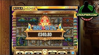 Online Slots Cleopatra Mega Progressive Jackpot vs £600 Real Money Play at Mr Green Online Casino!