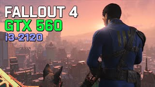 Fallout 4 - i3 2120, GTX 560 1gb, 8gb RAM FPS Test