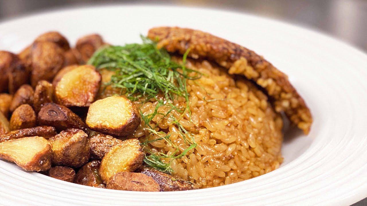 にんにくご飯【ガリハラ】Super garlic rice. 『機働調理士ガリハラ 逆襲のチーフ』