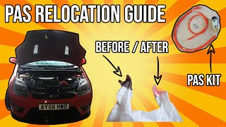 How to install a Power Steering Reservoir Relocation kit - Fiesta ST MK6
