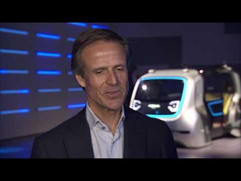 Geneva International Motor Show 2017 - Volkswagen Group vehicle SEDRIC Michael Mauer   AutoMotoTV