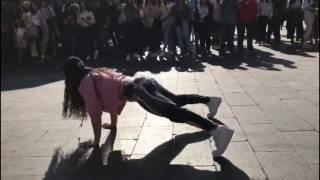 Susana Buitrago VS Jack Gómez| Batalla Twerk| Madrid