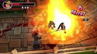 Ninja Avenger Dragons Blade: Chapter 1 - Path of Vengence Gameplay.