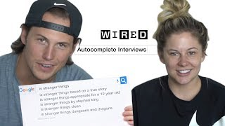 Shawn Johnson & Andrew East Answer the Web's Most Searched Questions