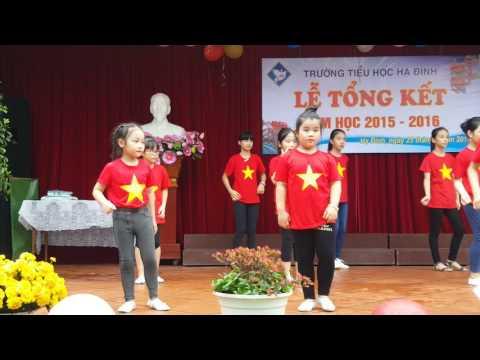 Múa dân vũ Tôi yêu Việt Nam - lễ tổng kết 2015-2016