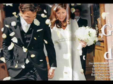 federer and mirka wedding video youtube