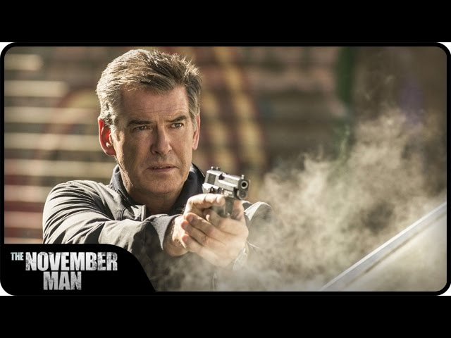THE NOVEMBER MAN - Bande annonce VOST du film - au cinéma le 29 octobre