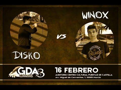 #GDAwriters3 DISKO vs WINOX Batalla Escrita