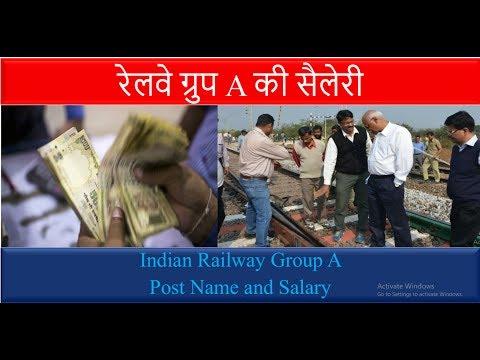 Railway Group A Post Name and Sallary Detail | Railway Exam Preparation