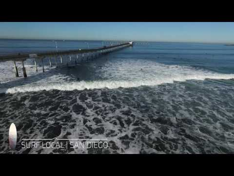 Surf Local | San Diego | OB | Pier + Avalanche | 12.21.16