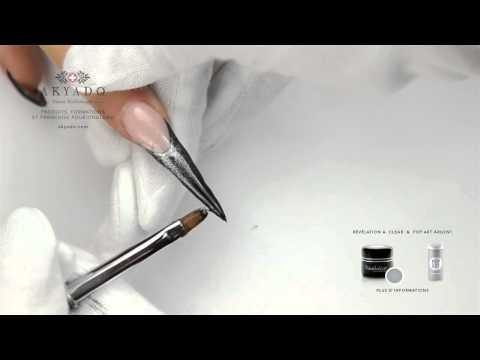 Stiletto Pretty Woman - Step by step - tutoriel AKYADO