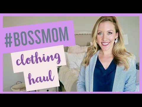 2018 WHAT TO WEAR TO WORK | BUSINESS CASUAL | #BOSSMOM