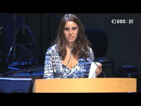 Chiara Leoni_Discurs de la representant dels graduats del curs 2014-15