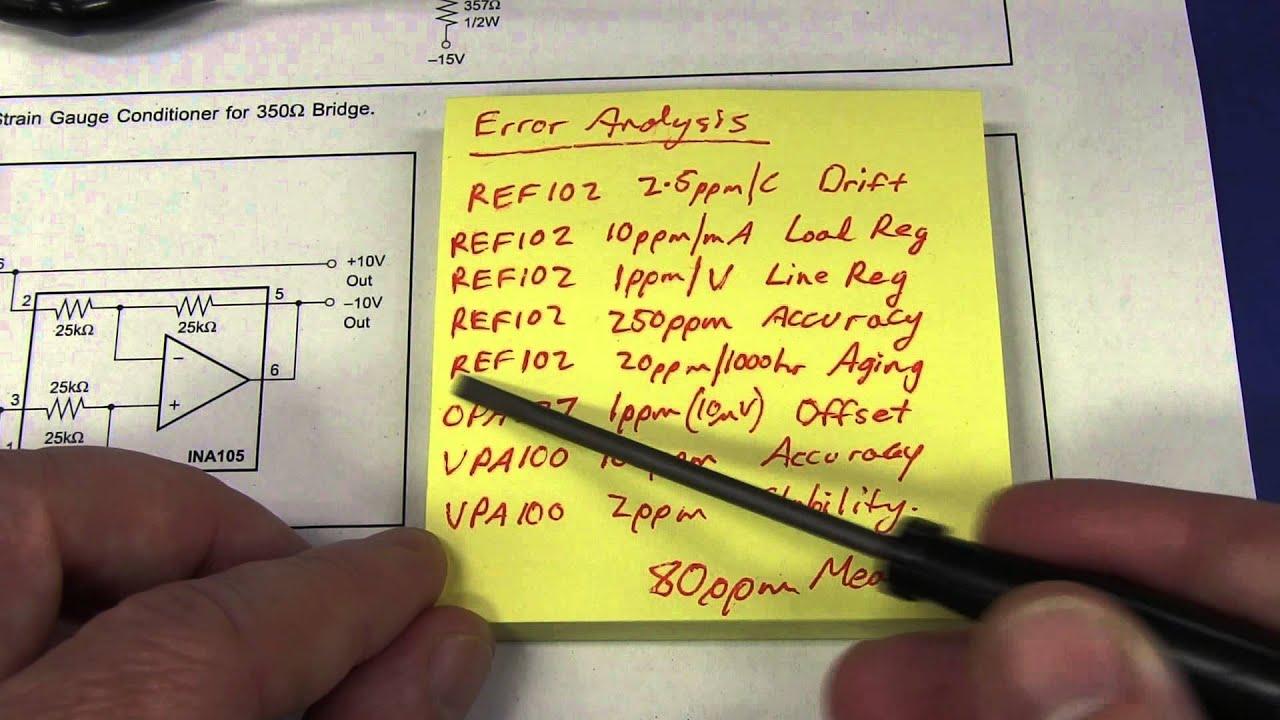 Eevblog 579 Precision Low Current Source Youtube Gain 2 Of Amplifier Circuit Ina105 Amplifiercircuit