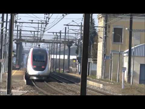TOP 10 } Самые быстрые поезда (по 2015 год)