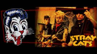 Rockabilly : Stray Cats : Runaway Boys : With Lyrics : * Read Description *