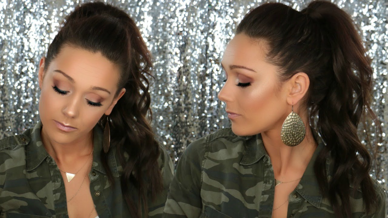 10 Minute Glam Ponytail Nume Magic Wand Bellami Hair Extensions