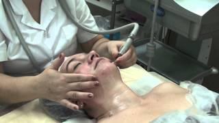 Вакуумный массаж лица на аппарате Starvac