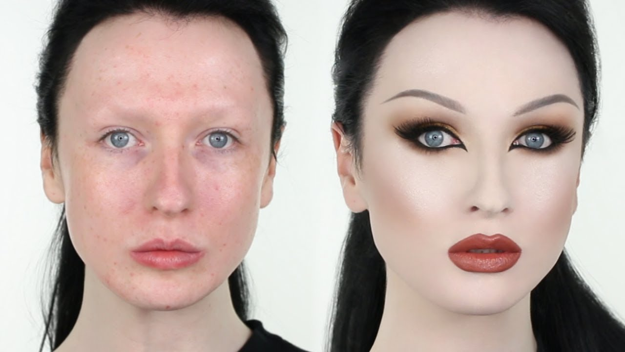 EXTREME INSTAGRAM MAKEUP TRANSFORMATION