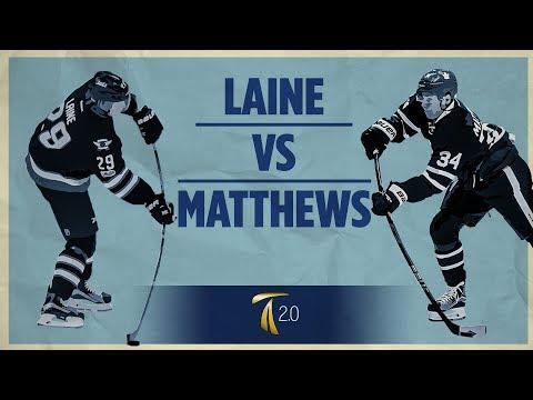 Laine vs Matthews Shot Breakdown
