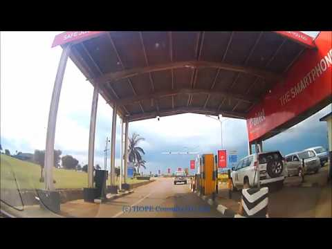 Drive from Entebbe Airport to Kampala March 2018