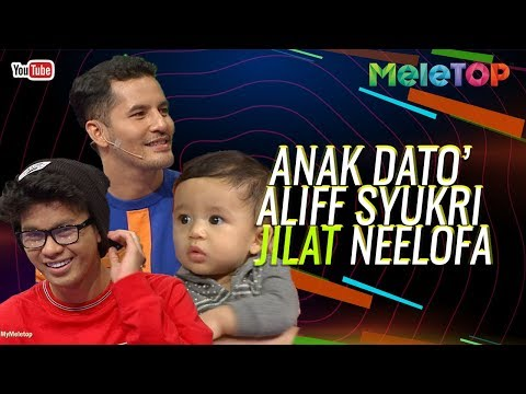 Anak Dato&39; Aliff Syukri jilat Neelofa masa ?  Nabil Haqiem Rusli Datin Sri Nur Shahida