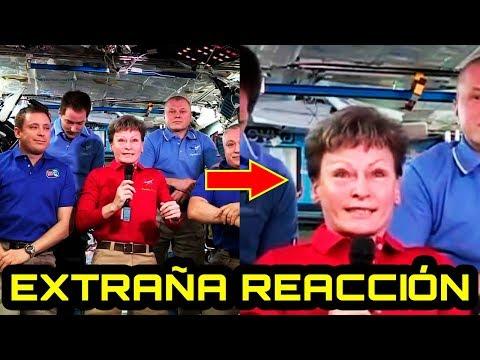 La EXTRAÑA reacción de los astronautas en la ISS