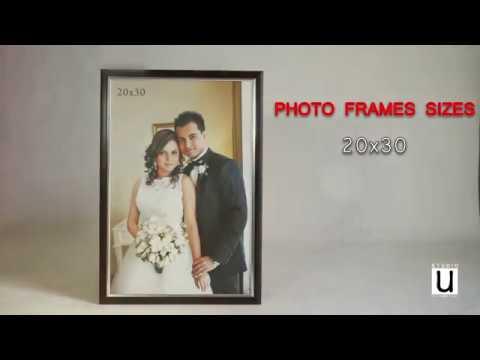 Standard picture frame sizes uk cm