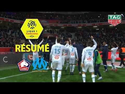 LOSC - Olympique de Marseille ( 1-2 ) - Résumé - (LOSC - OM) / 2019-20