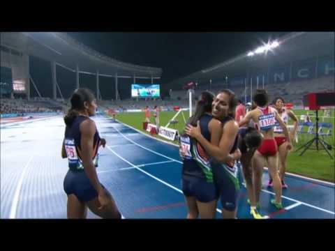 ASIAN GAMES 4x400 M WOMEN GOLD MEDALS
