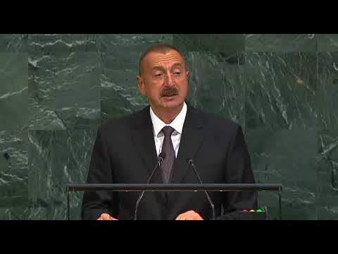 İlham Aliyev UNGA General Debate   20 September 2017