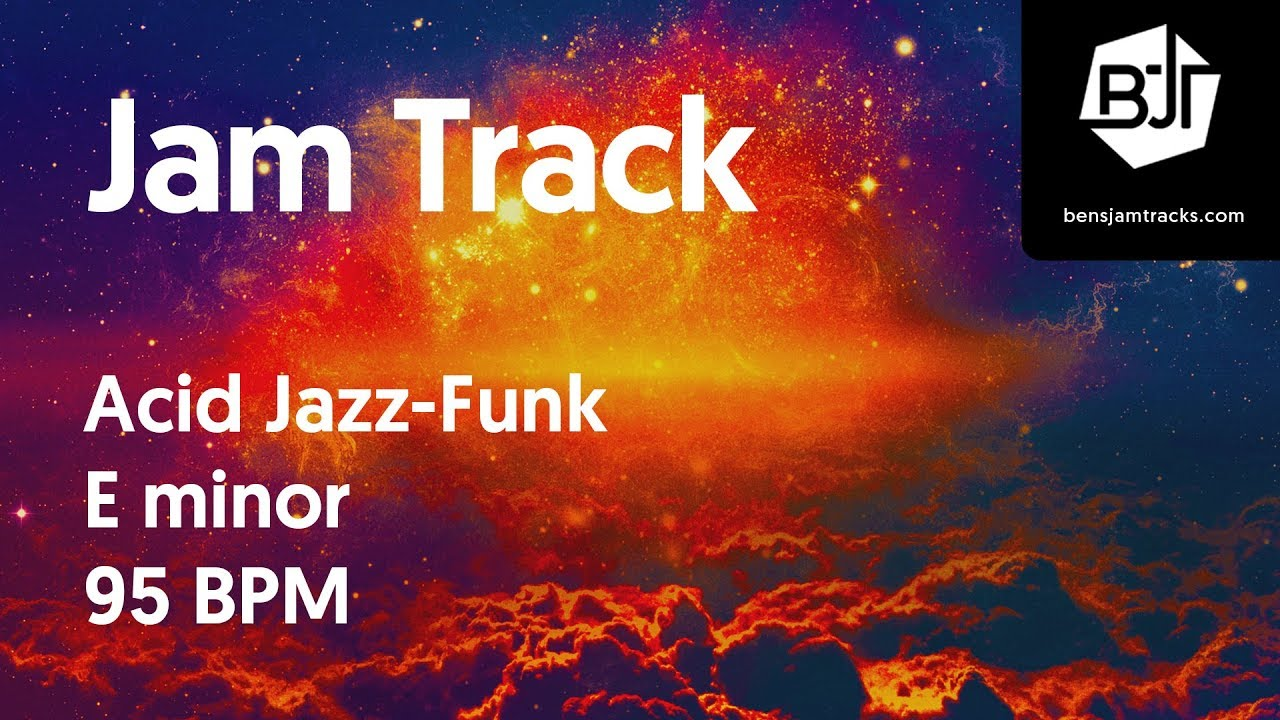 Acid Jazz-Funk Jam Track in E minor - BJT #30