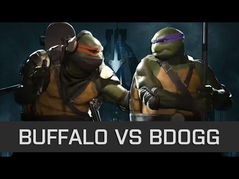Injustice 2 - High Level FT10 - Buffalo (Michelangelo) vs Bdogg (Donatello)