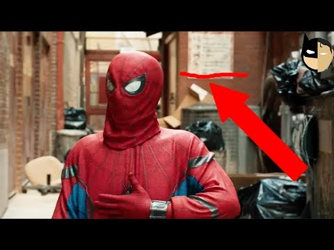 HUGE MISTAKES IN NEW SPIDER-MAN : HOMECOMING TRAILER #3 ?!