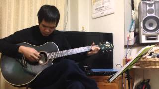 dạy chơi ghi ta-Rừng Lá Thấp-chơi điệu BOLERO guitar căn bản nhất