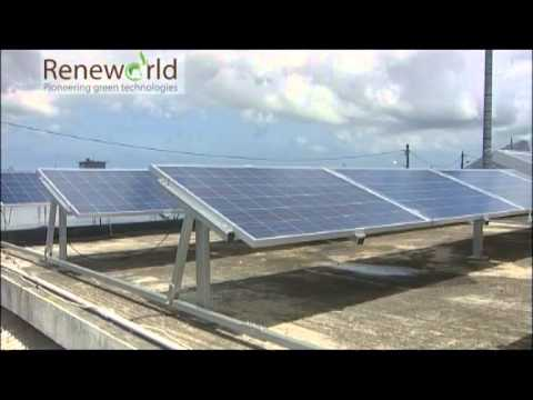 solar tracking system mauritius