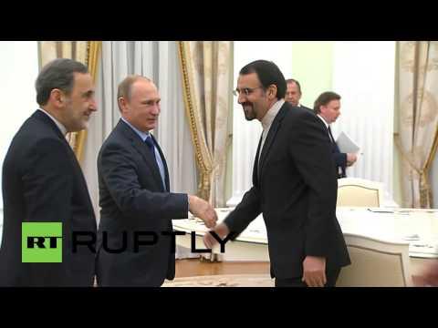 Russia: Putin meets Iran's Ali Akbar Velayati as ties deepen